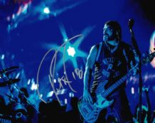 Robert Trujillo Autograph Signed Photo  - Metallica